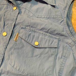 Carhartt Tops - Carhartt Sleeveless Snap Button Down Shirt